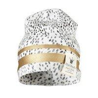 Elodie Details - Czapka bawełniana Gilded Dots of Fauna 0-6 m-cy