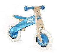 Janod - Rowerek biegowy niebieski Little Bikloon 2+