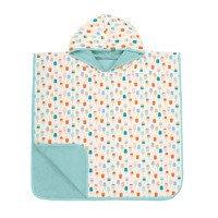 Lassig Ręcznik Poncho Ice Cream 120x60 cm UV 50+, 12-36 m-cy