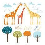 Skip Hop - Naklejki Safari