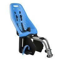 THULE - Yepp Maxi fotelik rowerowy - niebieski, montowany na ramę roweru