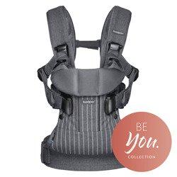 BABYBJORN ONE - nosidełko ergonomiczne, Paski - Szare
