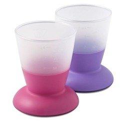 BABYBJORN - kubki - fioletowy / różowy