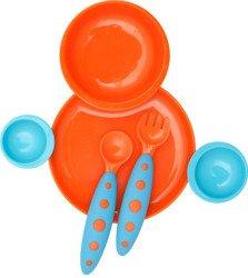 Boon - Zestaw jedzeniowy Orange/Blue