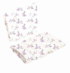 Poduszka do krzesła DanChair - Bunny Hop - różowy