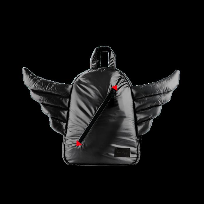 7AM - Plecak BackPack MINI WINGS Black
