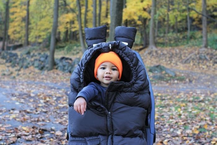 7AM - Śpiworek do wózka i fotelika samochodowego Blanket 212 Evolution Black Plush