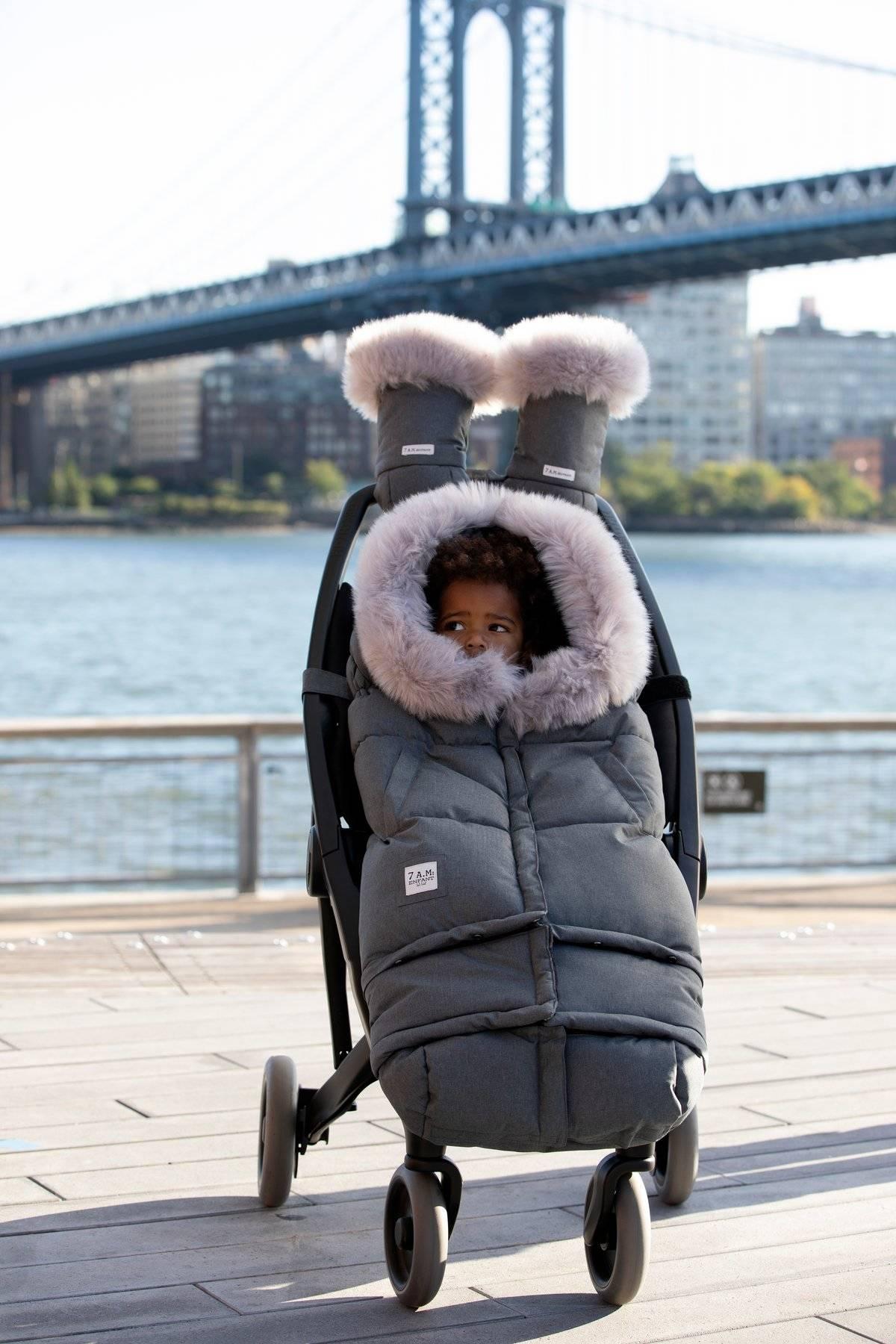 7AM - Śpiworek do wózka i fotelika samochodowego Blanket 212 Evolution - Tundra