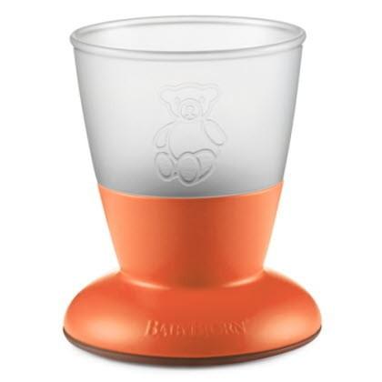 BABYBJORN - kubki - turkusowy / pomarańczowy