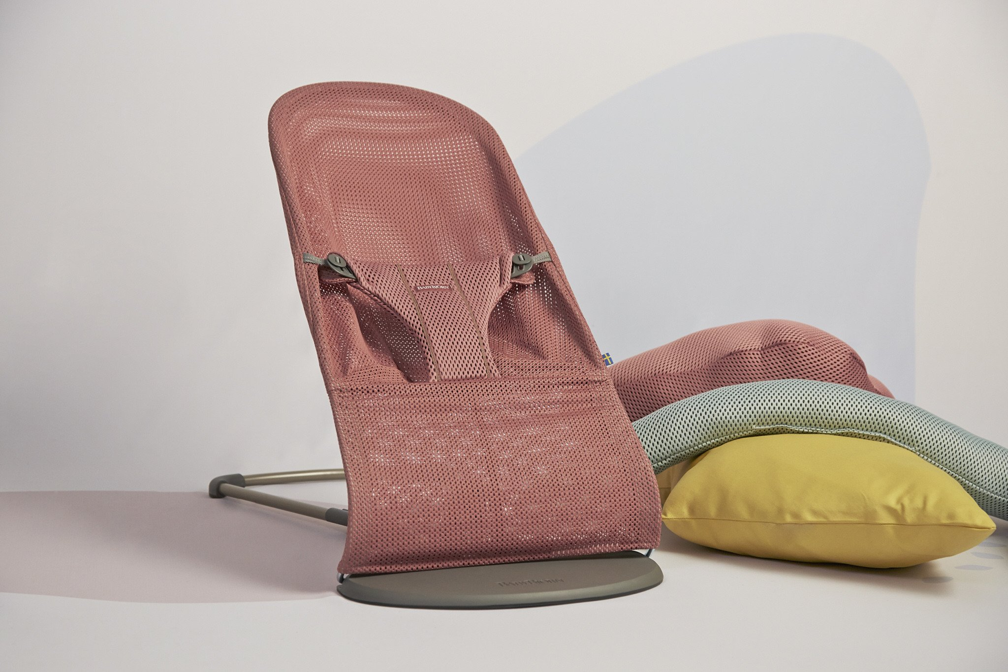 BABYBJORN - leżaczek BLISS MESH, Różowy
