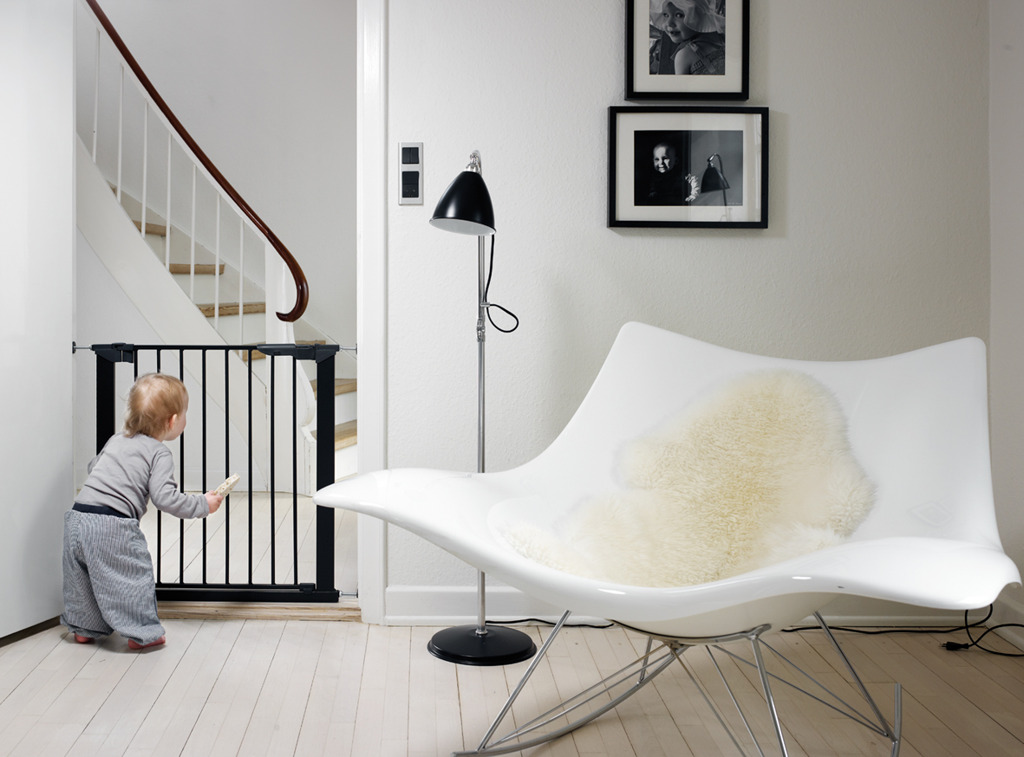 Baby Dan - Bramka ochronna PREMIER + 5 rozszerzeń, czarna