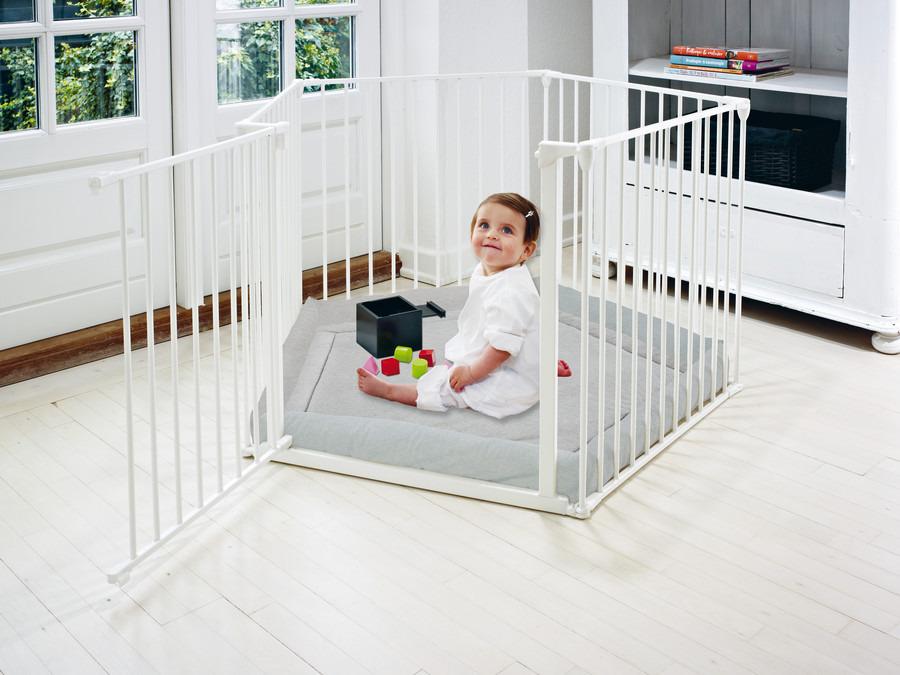 Baby Dan kojec Park A Kid -  biały