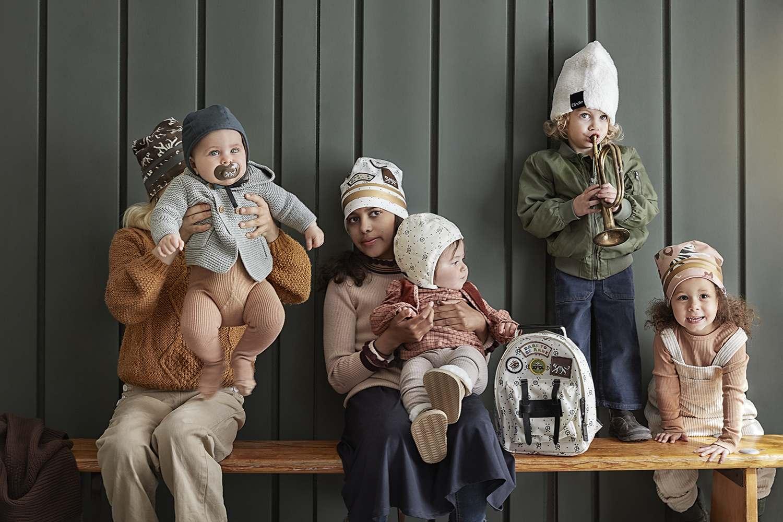 Elodie Details - Czapka Winter Bonnet - Juniper Blue - 1-2 lata