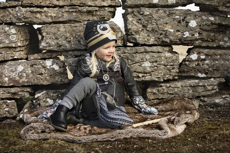 Elodie Details - Czapka Zimowa - Gilded Playful Pepe 6-12m
