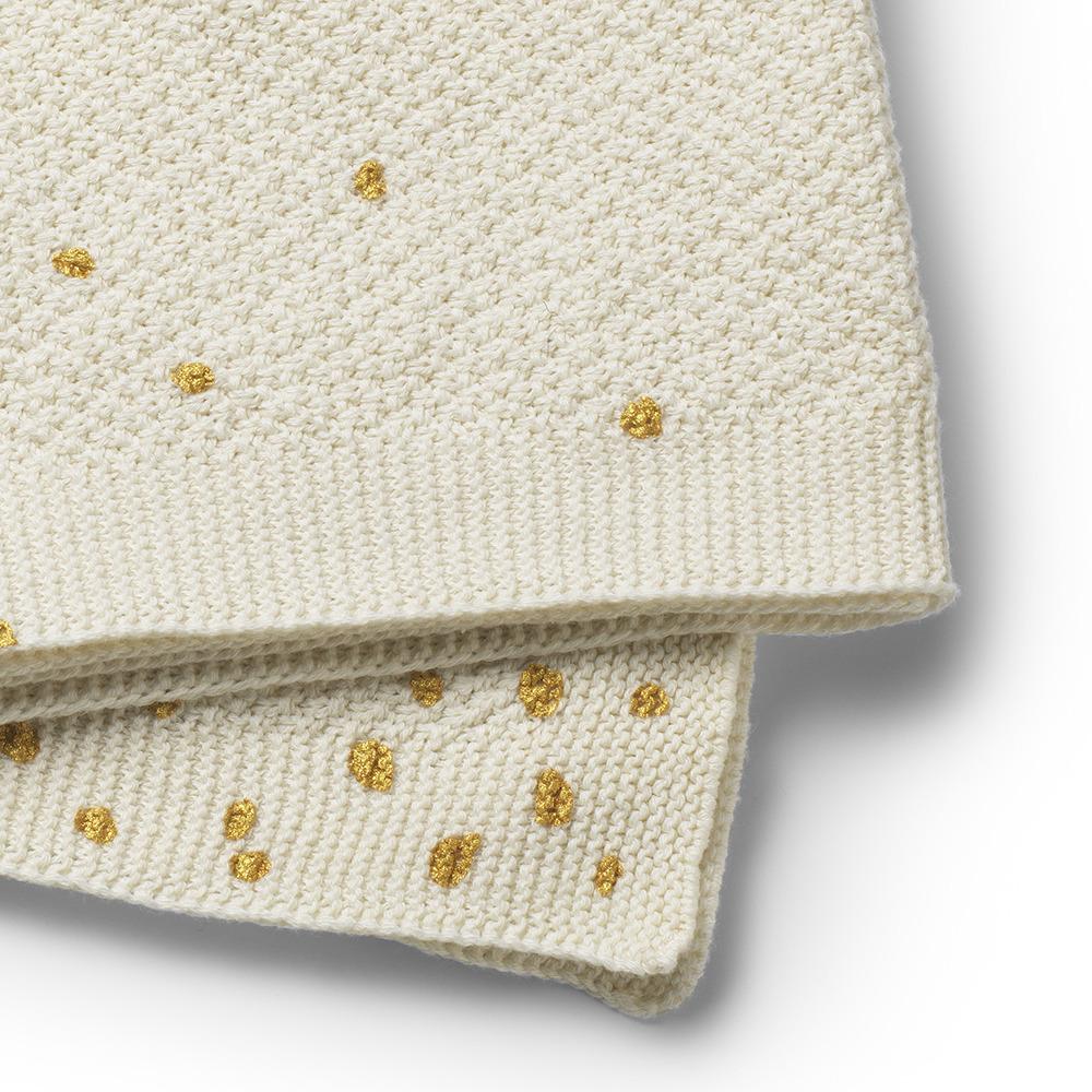 Elodie Details - Kocyk Dzianinowy Oeko-Tex Gold Shimmer