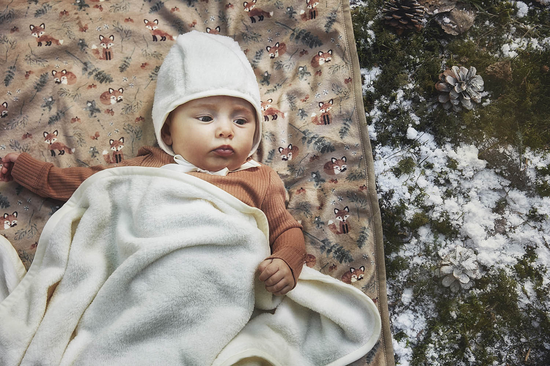 Elodie Details - Kocyk Pearl Velvet Shearling