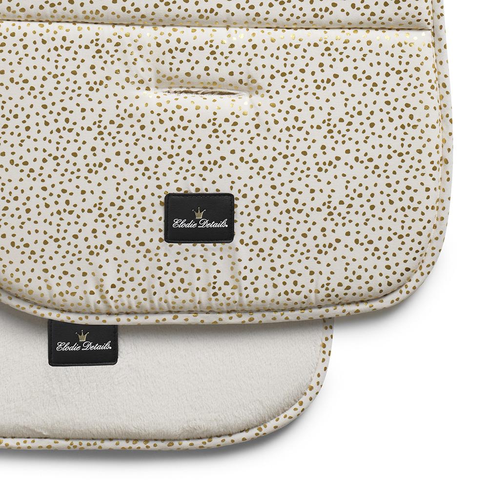 Elodie Details - Miękka wkładka do wózka Gold Shimmer