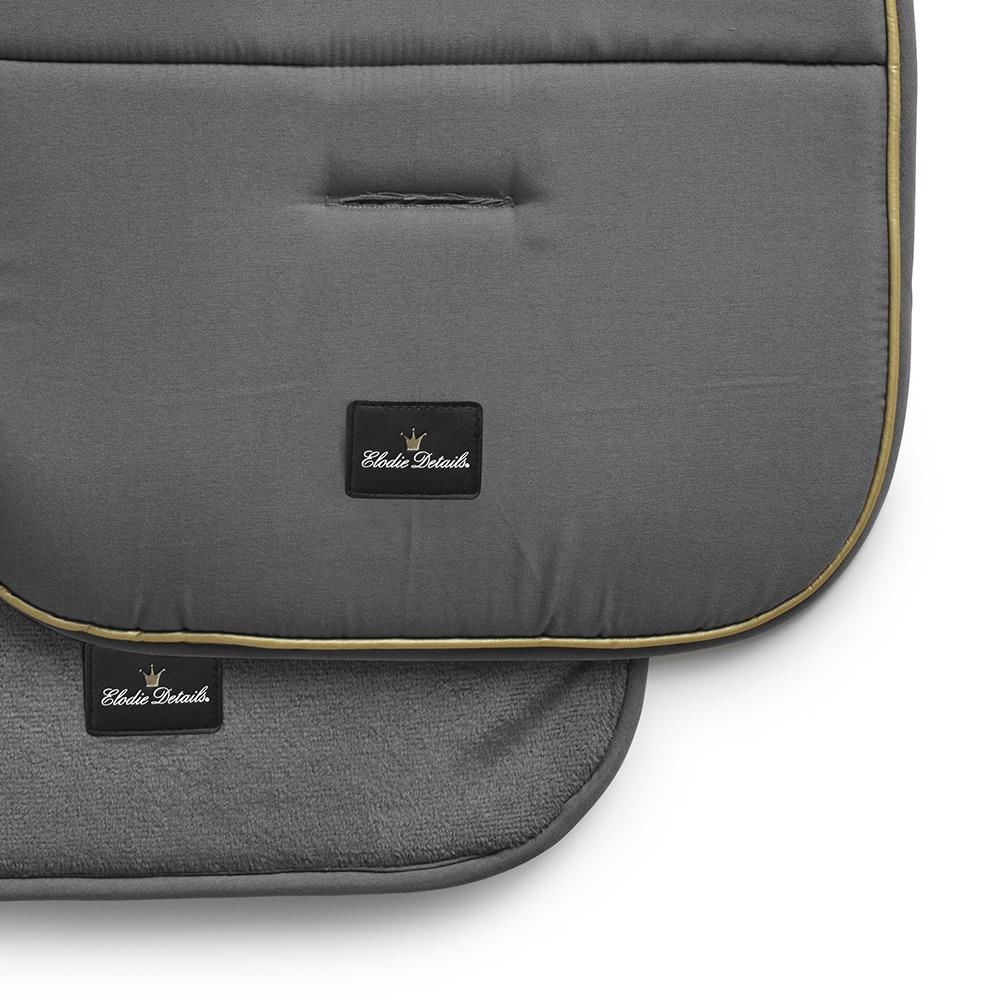 Elodie Details - Miękka wkładka do wózka Golden Grey
