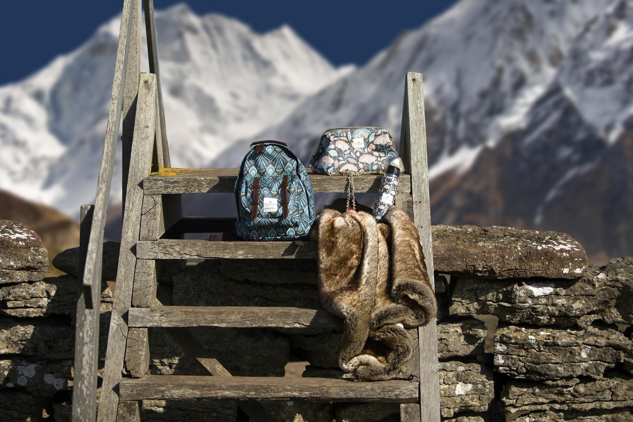 Elodie Details - Plecak BackPack MINI - Everest Feathers