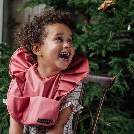Elodie Details - Śliniak - Winter Blush Red