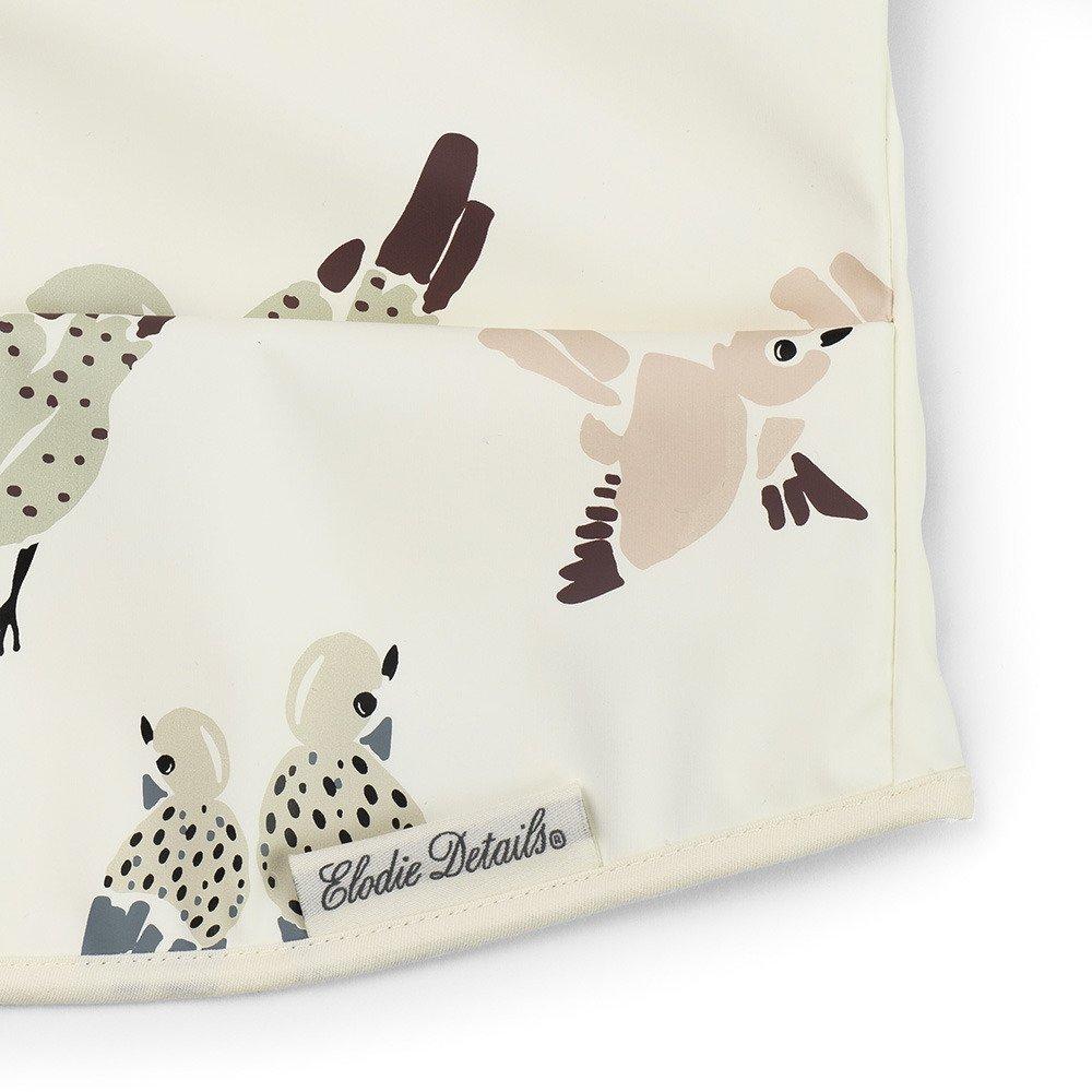 Elodie Details - Śliniak z długim rękawem - Feathered Friends