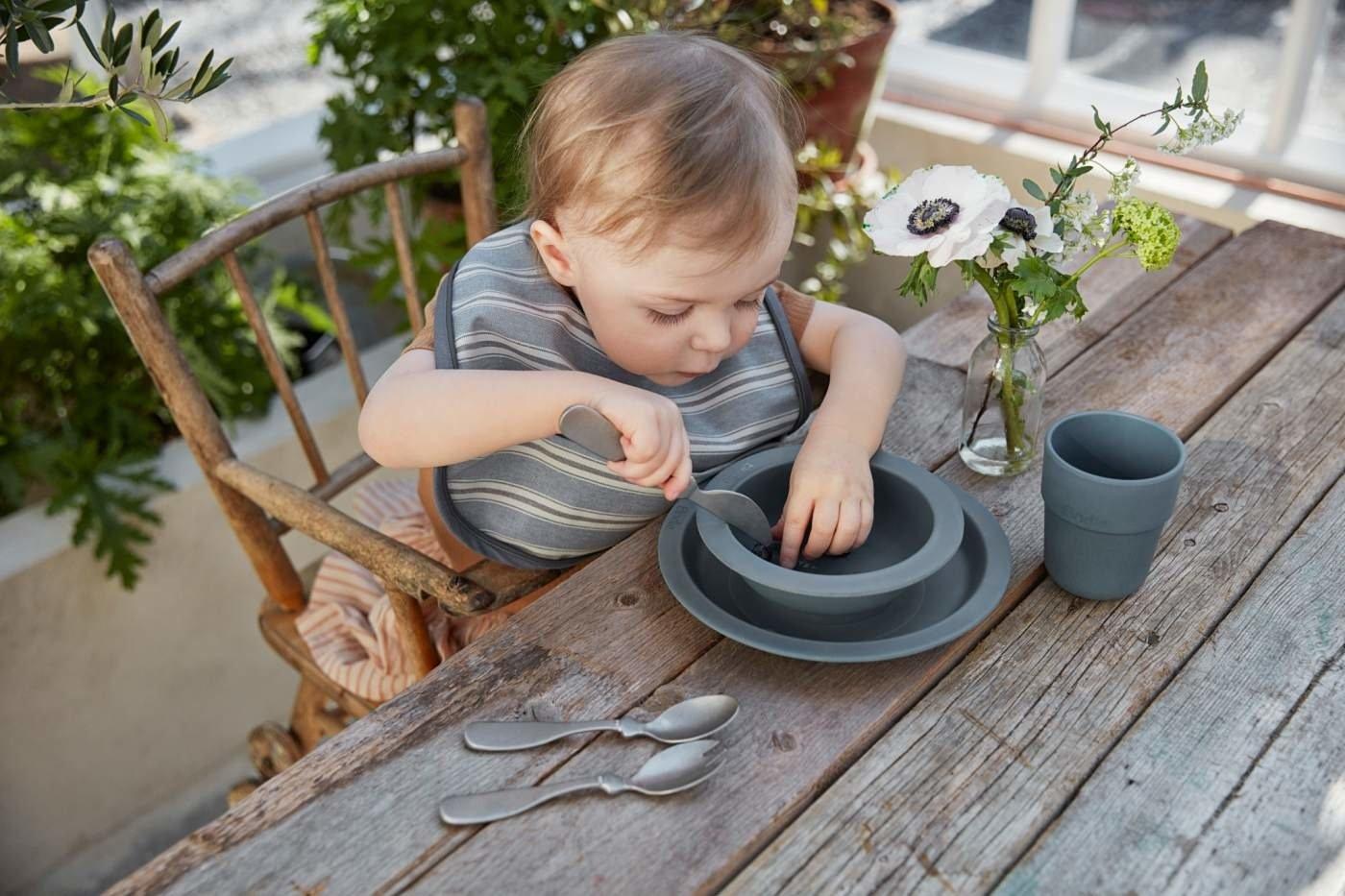 Elodie Details - Sztućce dla dzieci -  kolor antyczne srebro