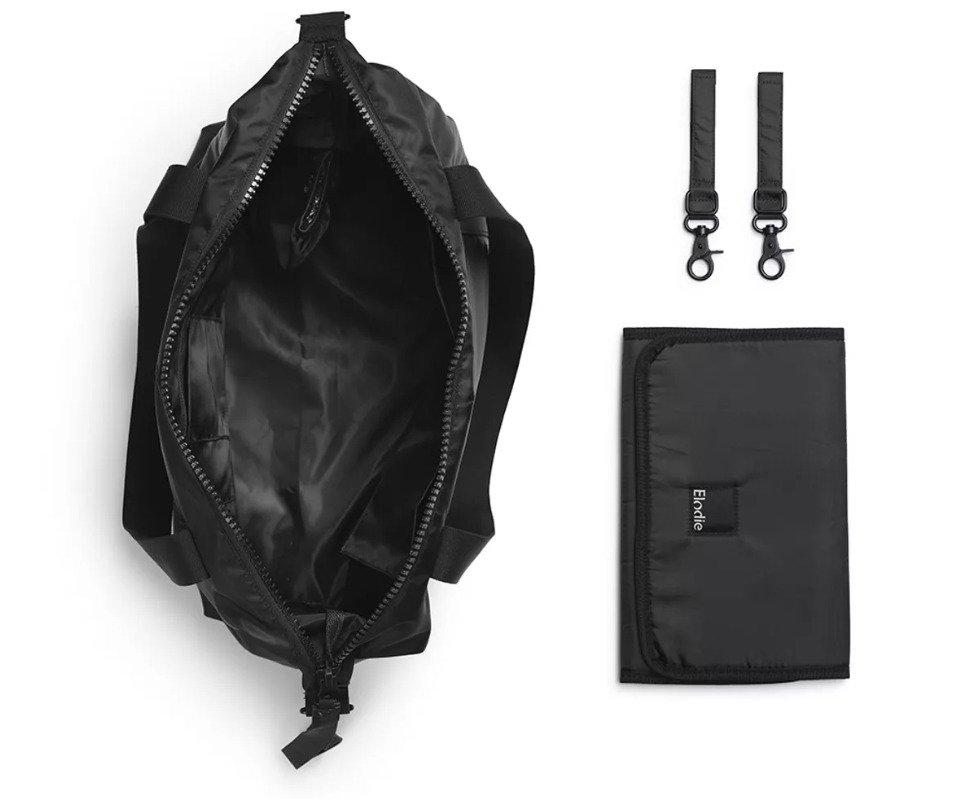 Elodie Details – Torba dla mamy - Soft Shell Brilliant Black