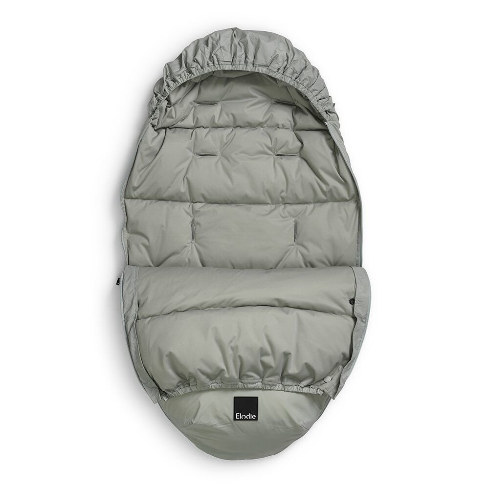 Elodie Details - puchowy śpiworek do wózka - Mineral Green