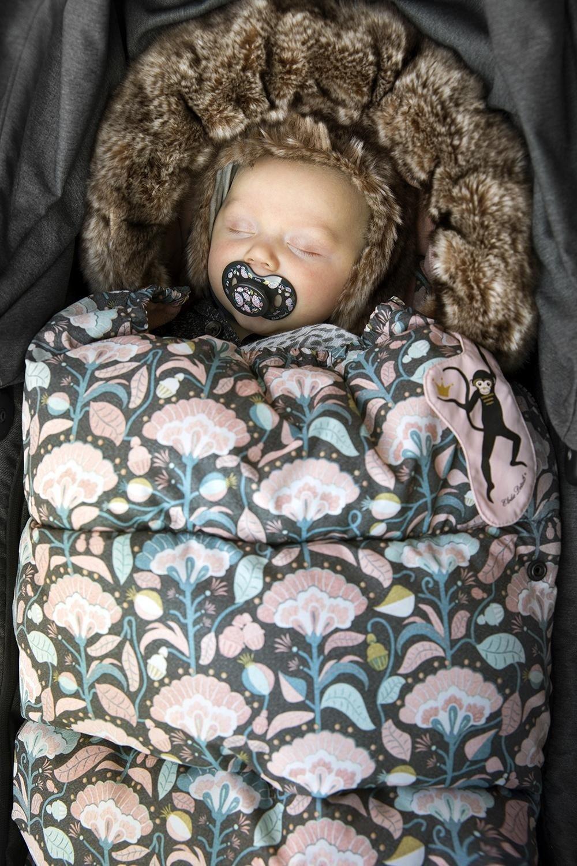 Elodie Details - śpiworek do wózka - Midnight Bells