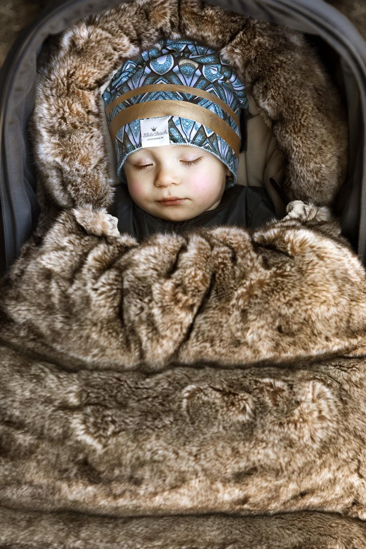 Elodie Details - śpiworek do wózka - Not FUReal