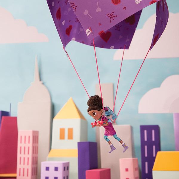 GoldieBlox - Ruby i zestaw do skoków ze spadochronem