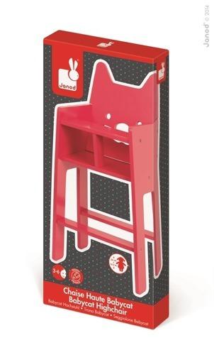 Janod - Krzesełko dla lalek Babycat