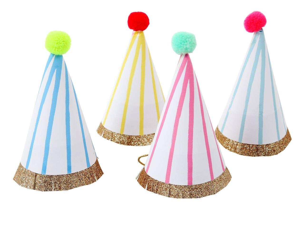 Meri Meri – Mini czapeczki Urodzinowe