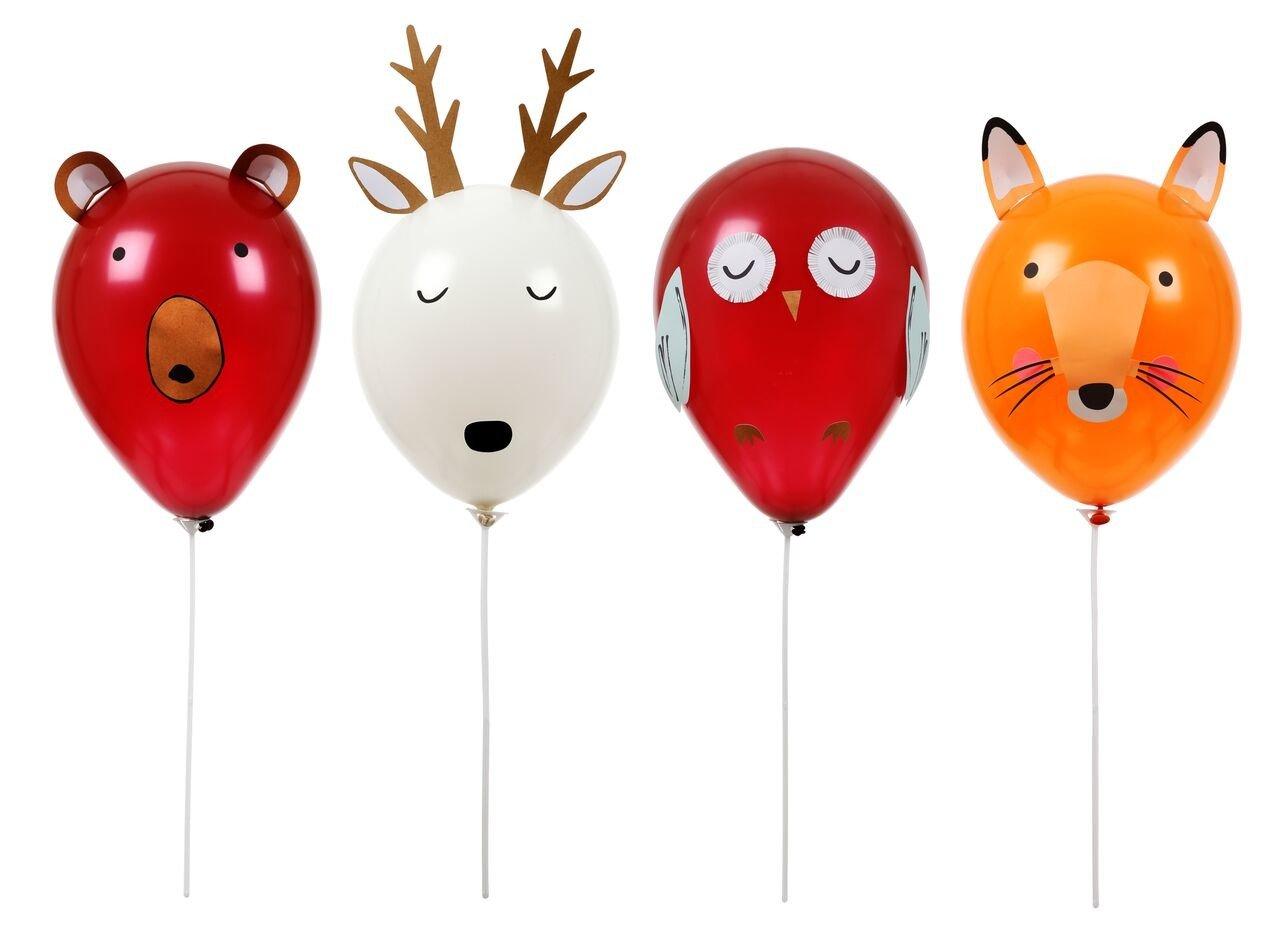 Meri Meri – Zestaw balonów Zwierzątka Las