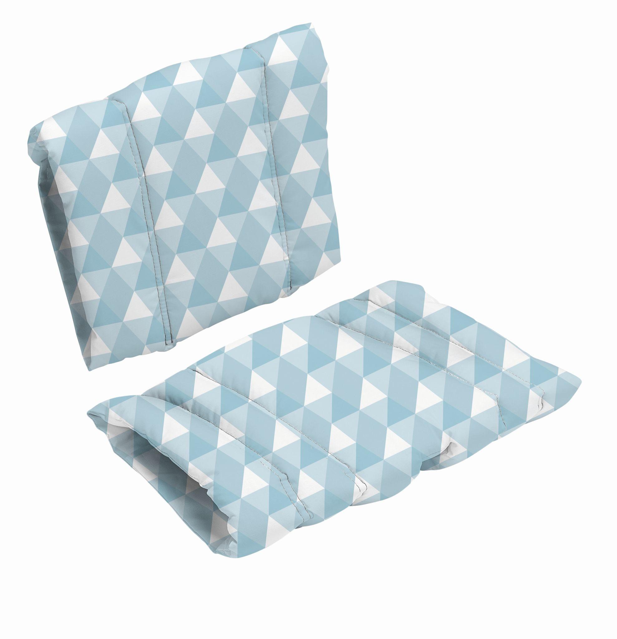 Poduszka do krzesła DanChair - HARMONY - niebieski