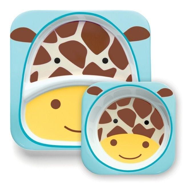 Skip Hop - Talerz Zoo Żyrafa
