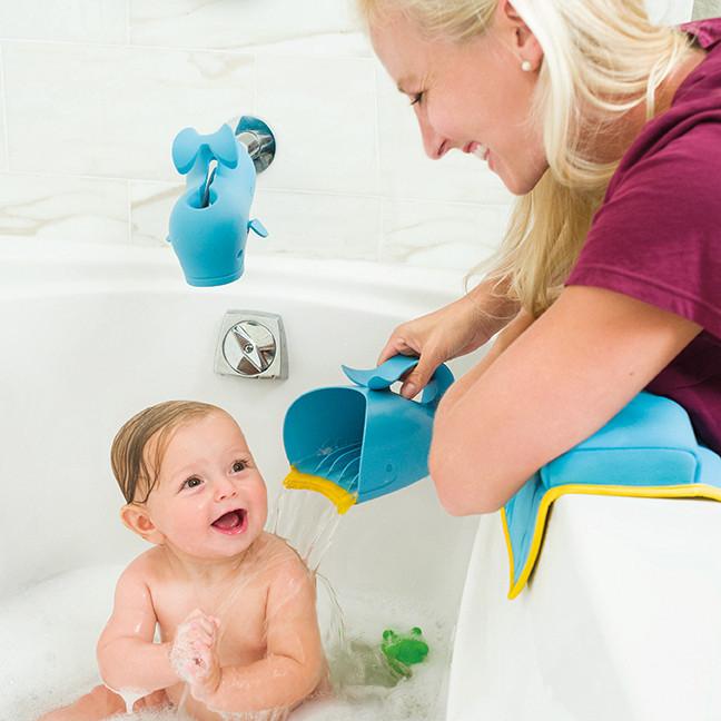 Skip Hop - Wodospad Wieloryb MOBY, niebieski