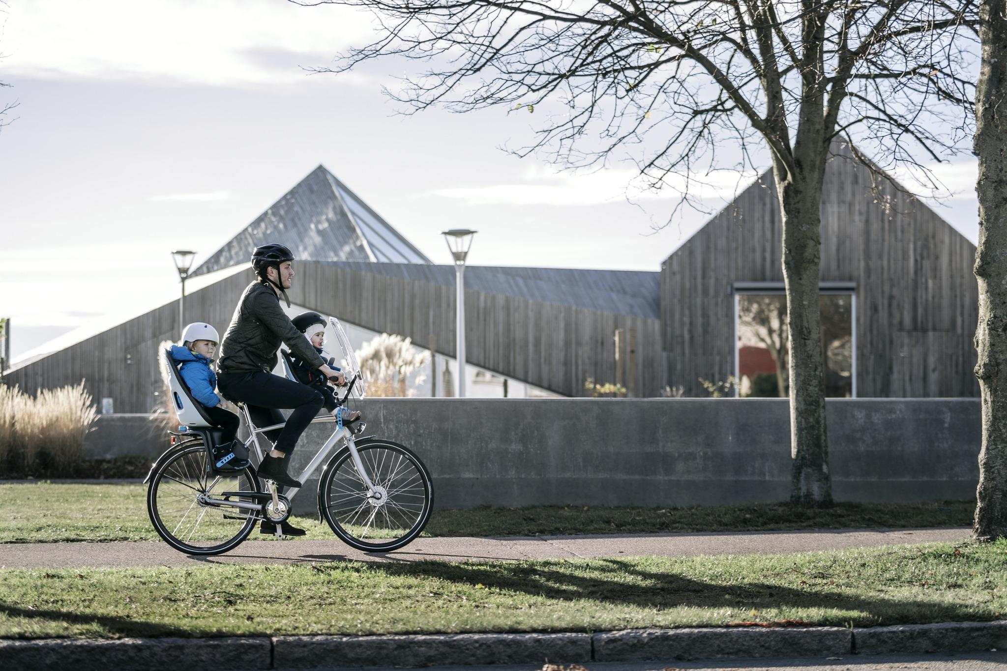 THULE - Yepp Nexxt Maxi fotelik rowerowy - biały