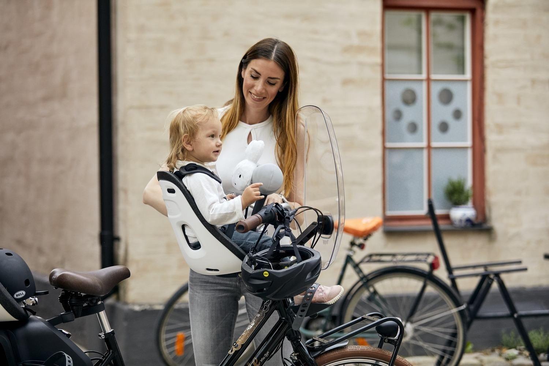 THULE - Yepp Nexxt Mini fotelik rowerowy - czarny