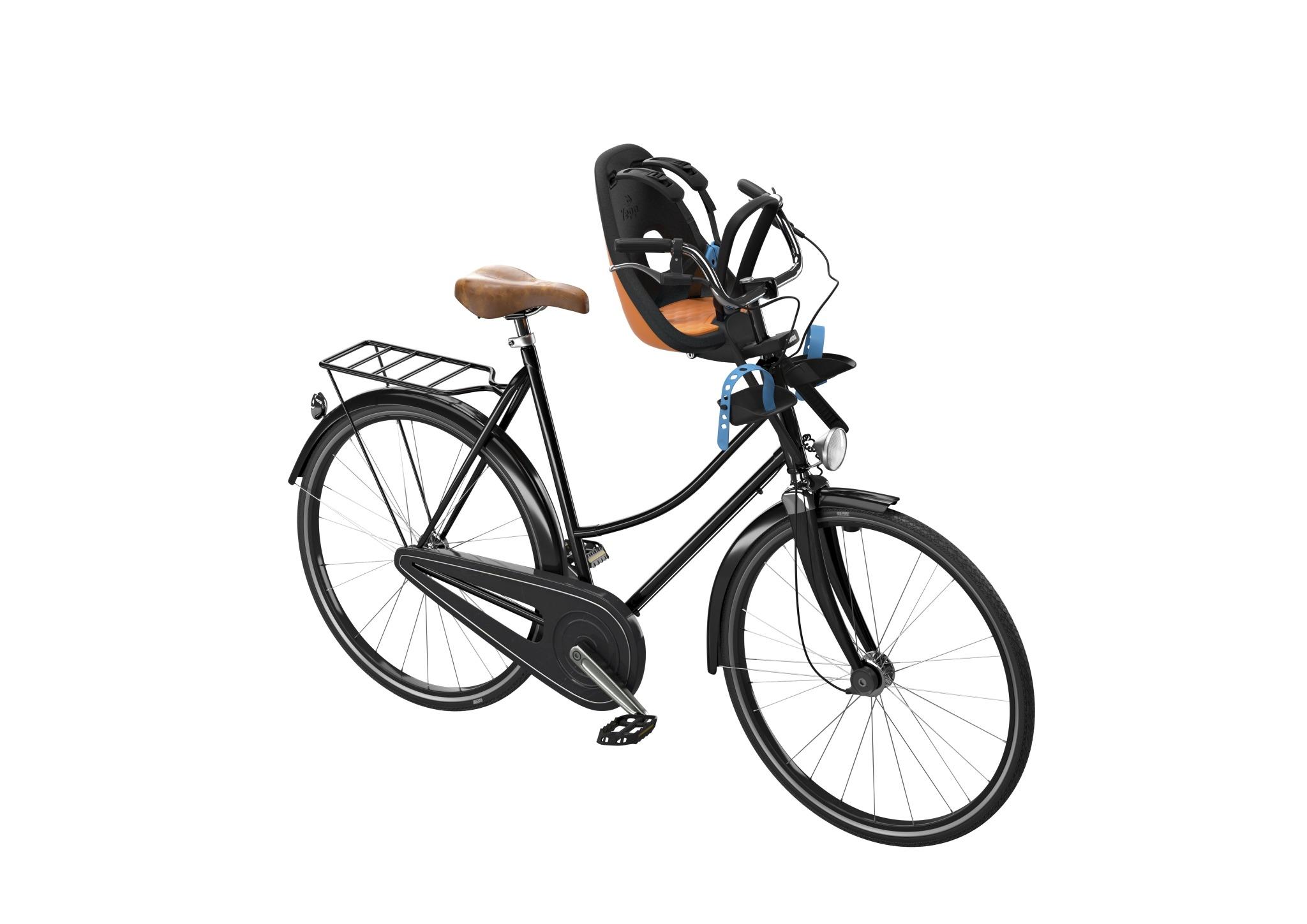 THULE - Yepp Nexxt Mini fotelik rowerowy - pomarańczowy