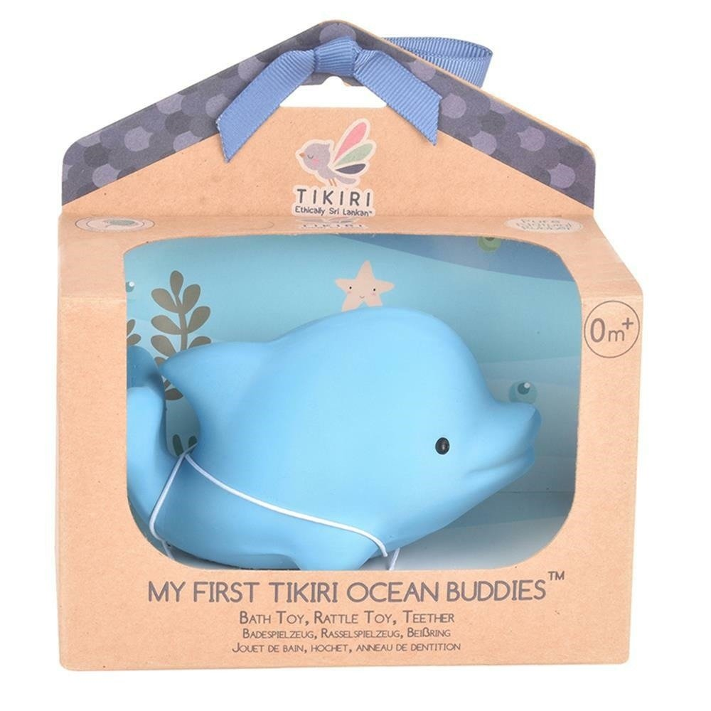 Tikiri - Gryzak zabawka Delfin Ocean w pudełku