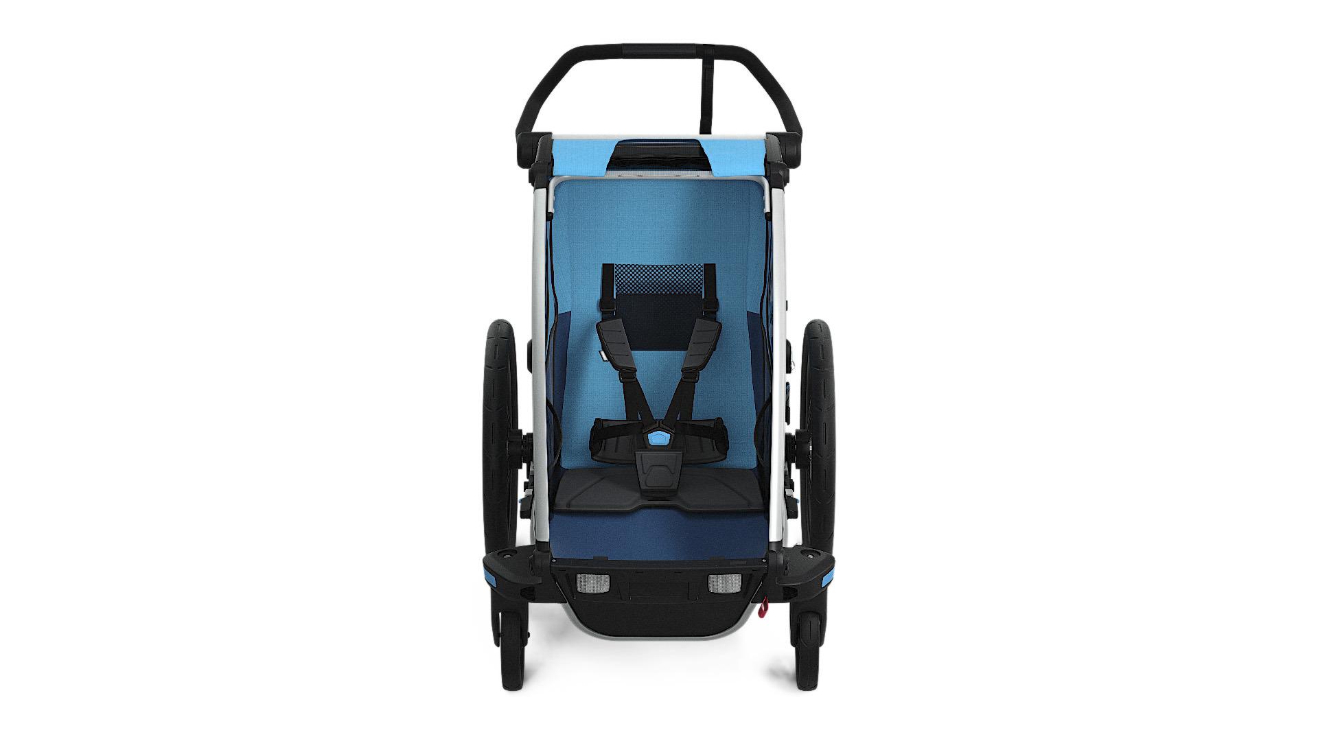 Wózek do biegania - THULE Chariot Cross 1 - niebieski/granatowy