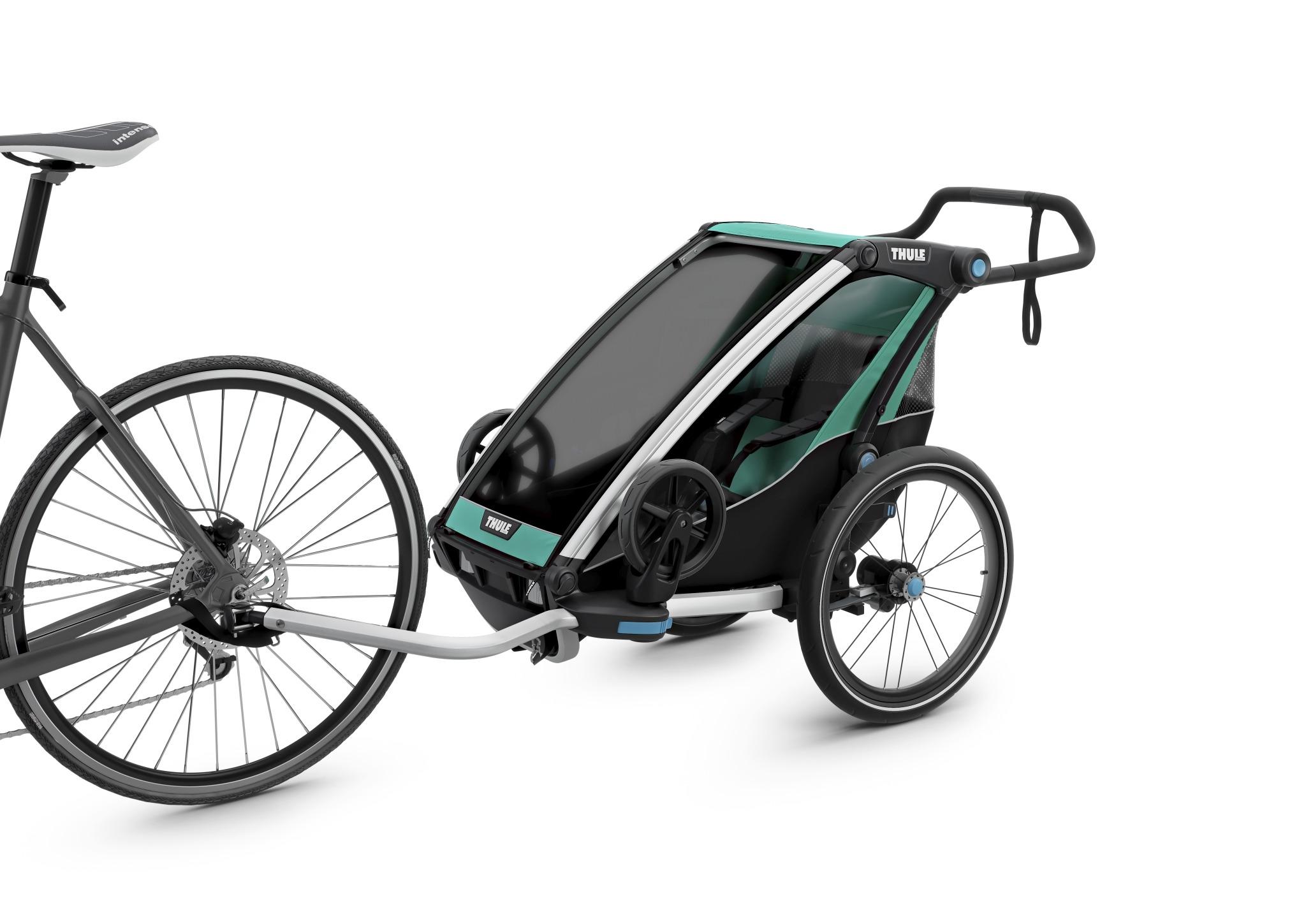 Wózek do biegania - THULE Chariot Lite 1 - morski/czarny