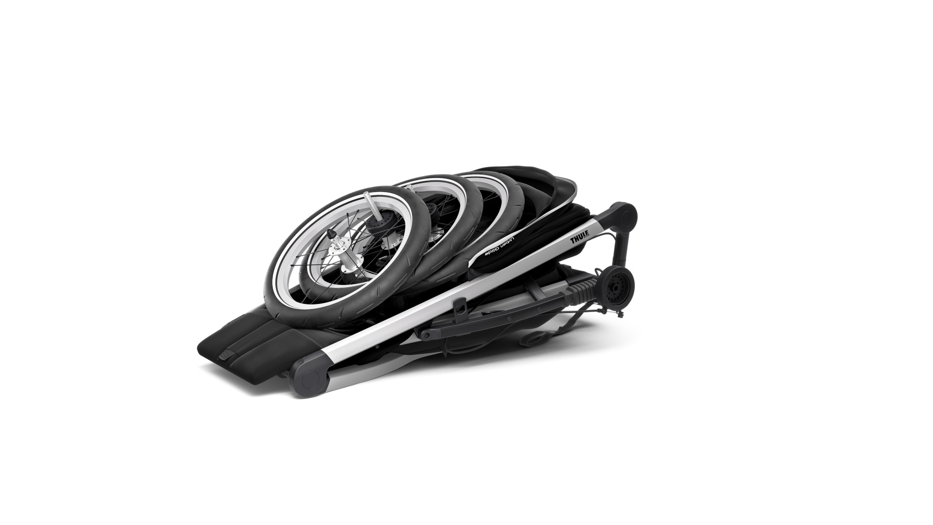 Wózek do biegania THULE Glide 2 Jet Black