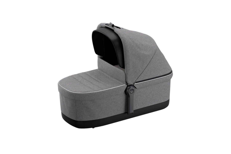 Wózek głęboko spacerowy Thule Sleek Grey Melange on Black