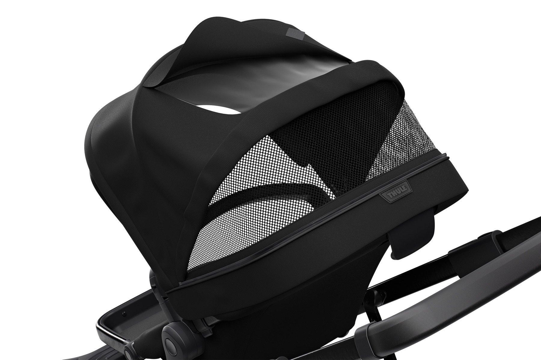 Wózek spacerowy Thule Sleek Black on Black