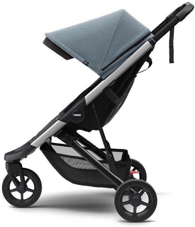 Wózek spacerowy Thule Spring Aluminium Teal Melange