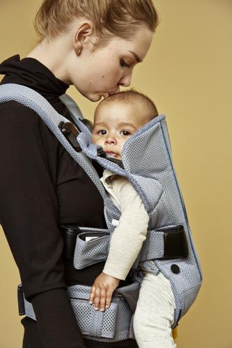 BABYBJORN ONE AIR nosidełko ergonomiczne Niebieski