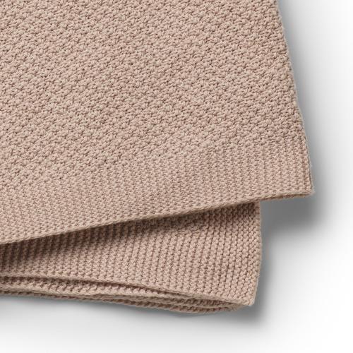 Elodie Details - Kocyk Dzianinowy Oeko-Tex Powder Pink