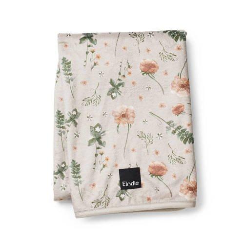 Elodie Details - Kocyk Pearl Velvet - Meadow Blossom